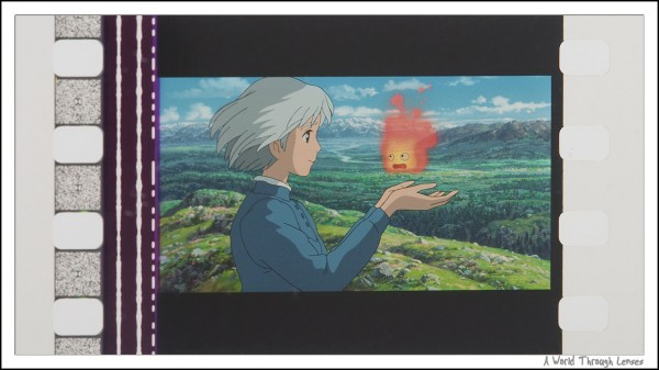 Howl's moving castle film cube