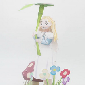 Honey And Clover Hagu Papercraft