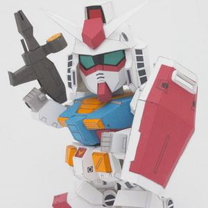 SD Gundam RX-72-2 papercraft v2.0