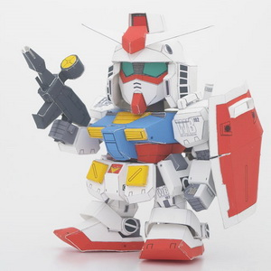 SD Gundam RX-78-2 papercraft