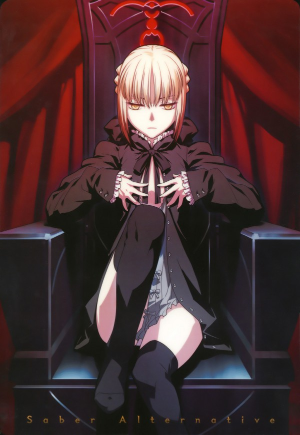 Saber alter illustration