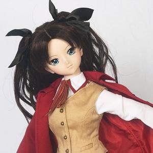 Rin with Homurabara Academy uniform set