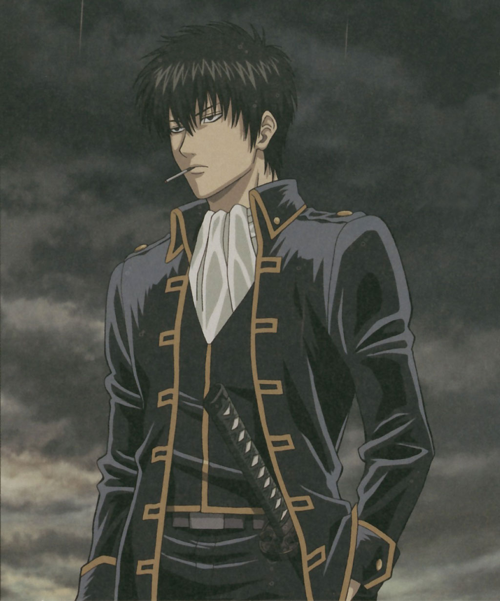 Gintama - L'anime Hijikata-Toushirou-Illustration