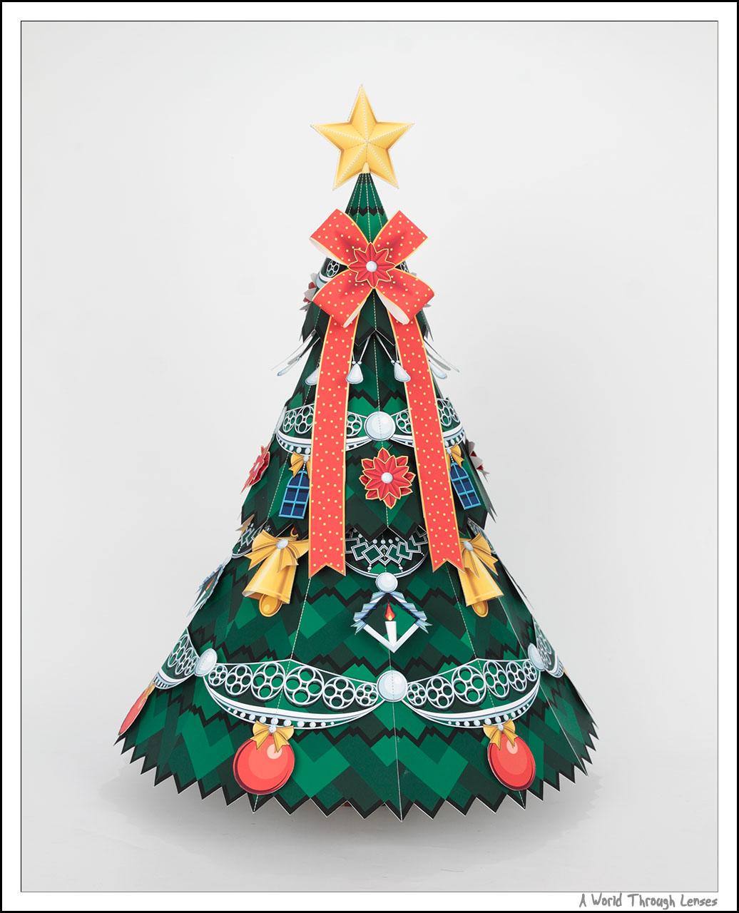 ... Christmas Tree Basic Paper Craft. Once ...